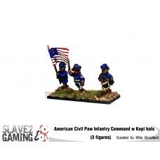 Battle of Teddysburg - Infantry with Kepi Command pack