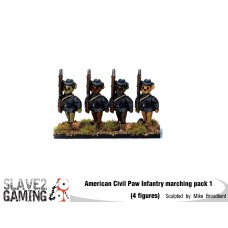 Battle of Teddysburg - Infantry with hat Marching pack 1