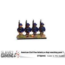 Battle of Teddysburg - Infantry with Kepi Marching pack 1