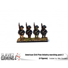 Battle of Teddysburg - Infantry with hat Marching pack 2