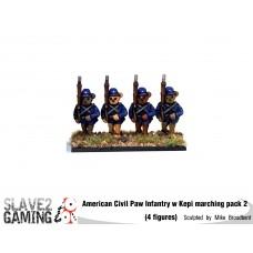 Battle of Teddysburg - Infantry with Kepi Marching pack 2