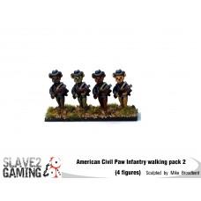 Battle of Teddysburg - Infantry with hat walking pack 2