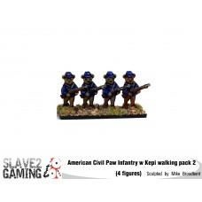 Battle of Teddysburg - Infantry with Kepi walking pack 2